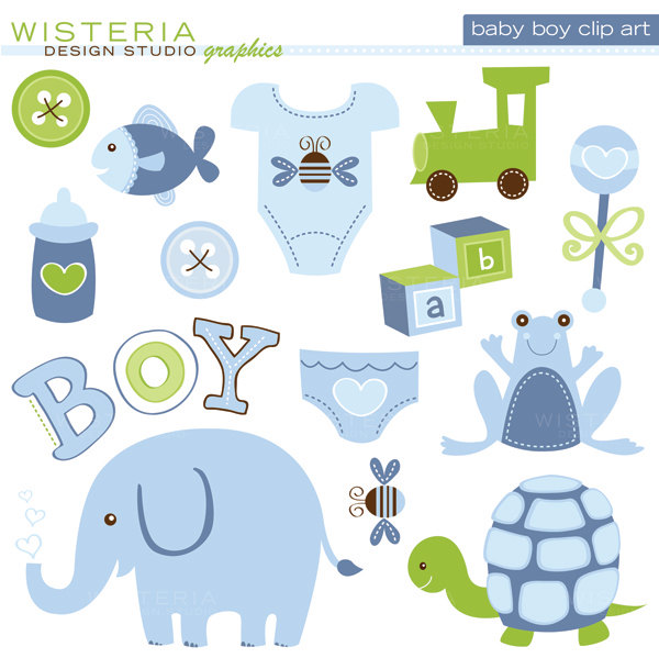 Baby Boy Clipart On Etsy Unxno   Popular Items For Baby Boy Clipart On