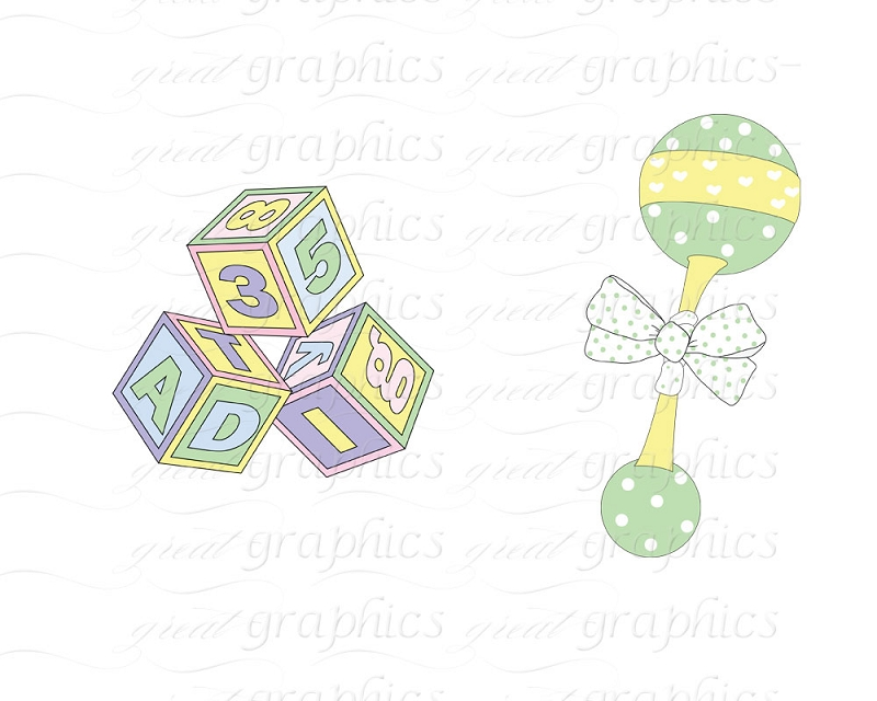 Baby Things Clipart - Clipart Kid