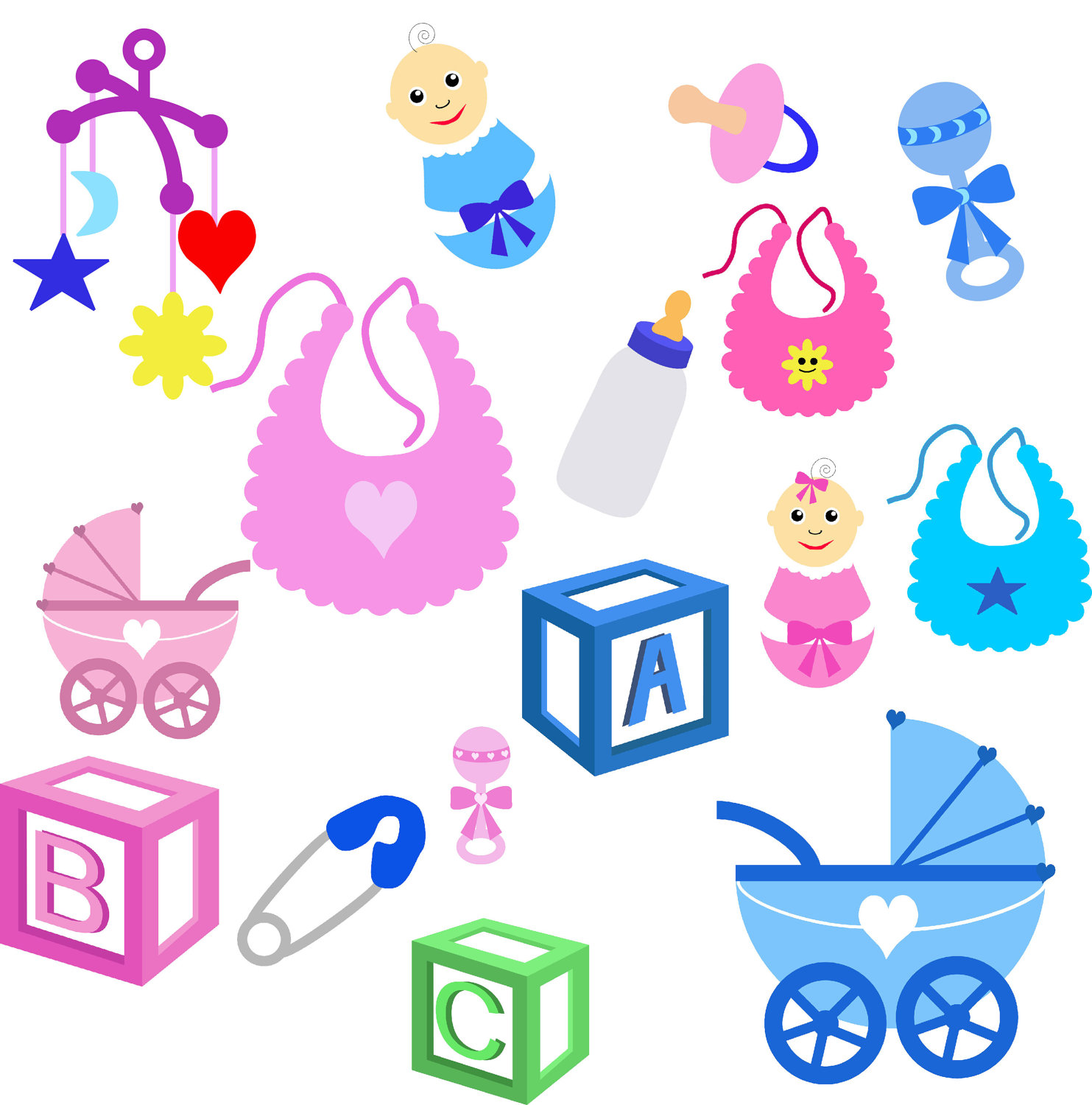 Baby Stuff Clipart Clipart Suggest