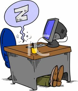Sleeping In A Desk Clipart - Clipart Suggest