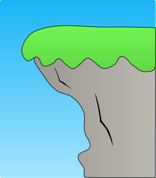Cliff Clip Art At Clker Com   Vector Clip Art Online Royalty Free