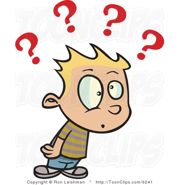 Confused Look Cartoon Confused Person #fB8lag - Clipart Kid