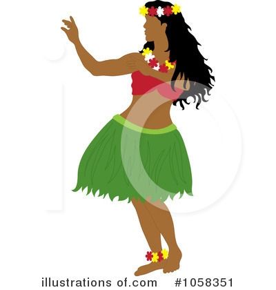 Hula Dancer Clipart Grease Clothing Remove The Top For Picture