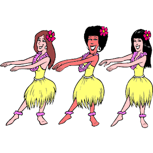 Hula Dancers Clipart Cliparts Of Hula Dancers Free Download  Wmf Eps