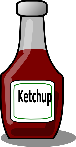 Clip Art Ketchup Clipart ketchup clipart kid bottle clip art at clker com vector online royalty