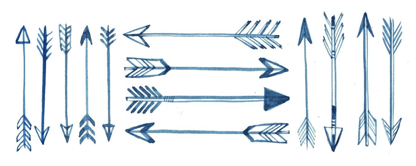 Native American Arrow Drawings Arrow - Clipart Kid