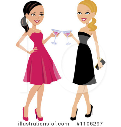 Royalty Free  Rf  Cheers Clipart Illustration By Monica   Stock Sample