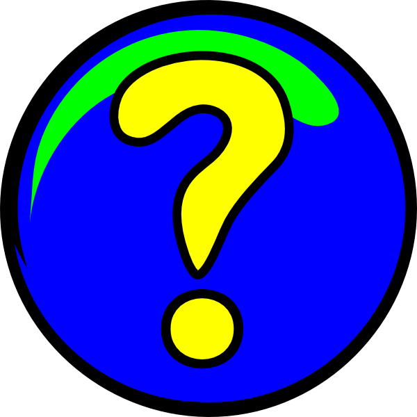 Moving Question Clip Art