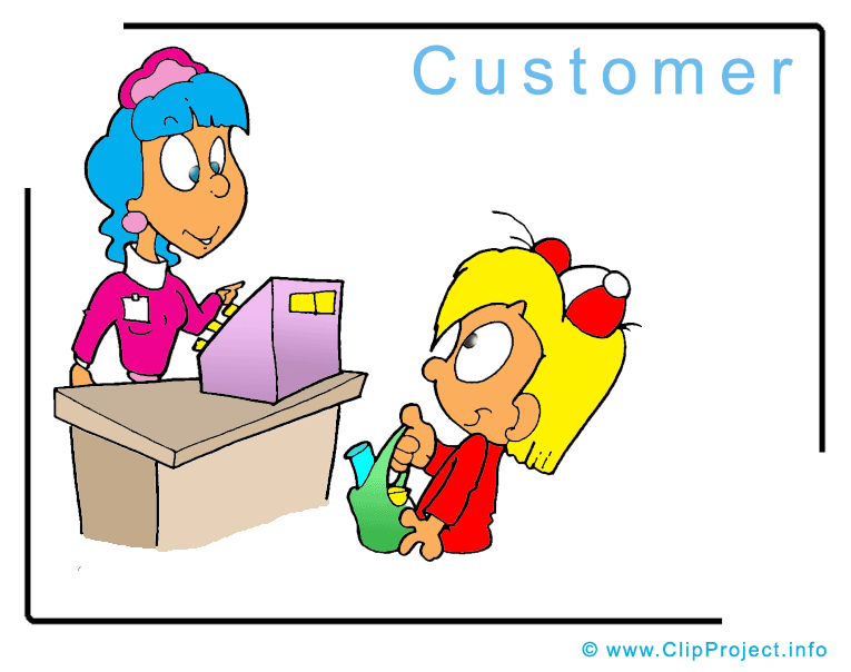 Clip Art Title  Customer Clipart Picture   Business Clipart Pictures