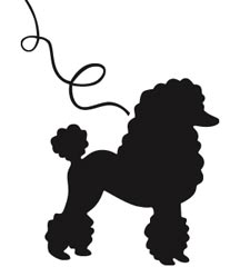 Craft Edge   View Topic   Poodle With Leash Silhouette