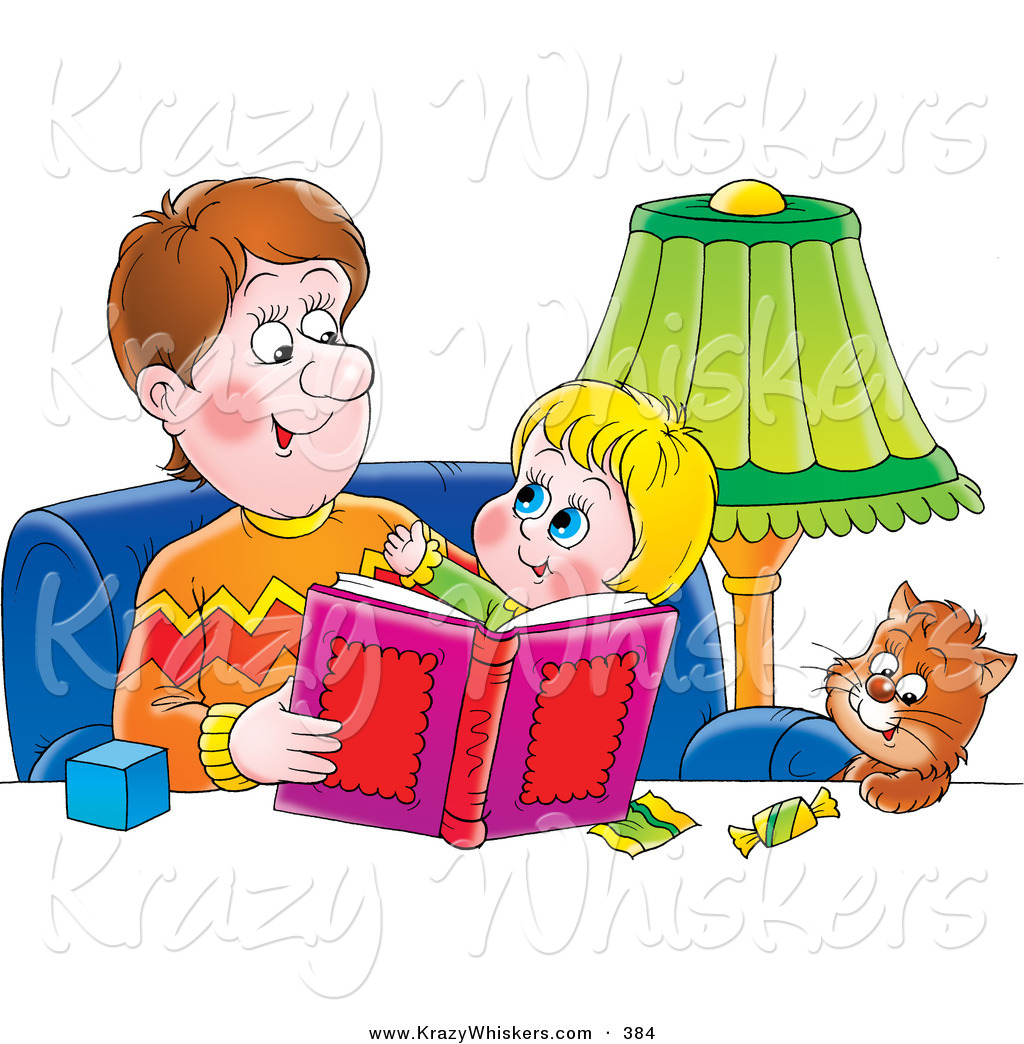 clipart family reading together - photo #22