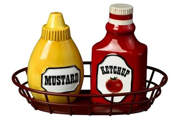 Ketchup And Mustard Salt And Pepper       Clipart Best   Clipart Best
