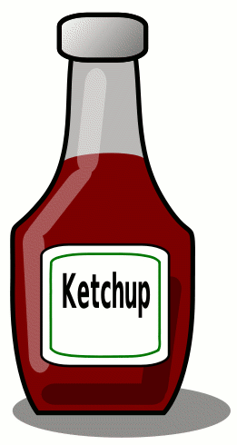 Ketchup Bottle 2    Food Condiments Ketchup Bottle 2 Png Html