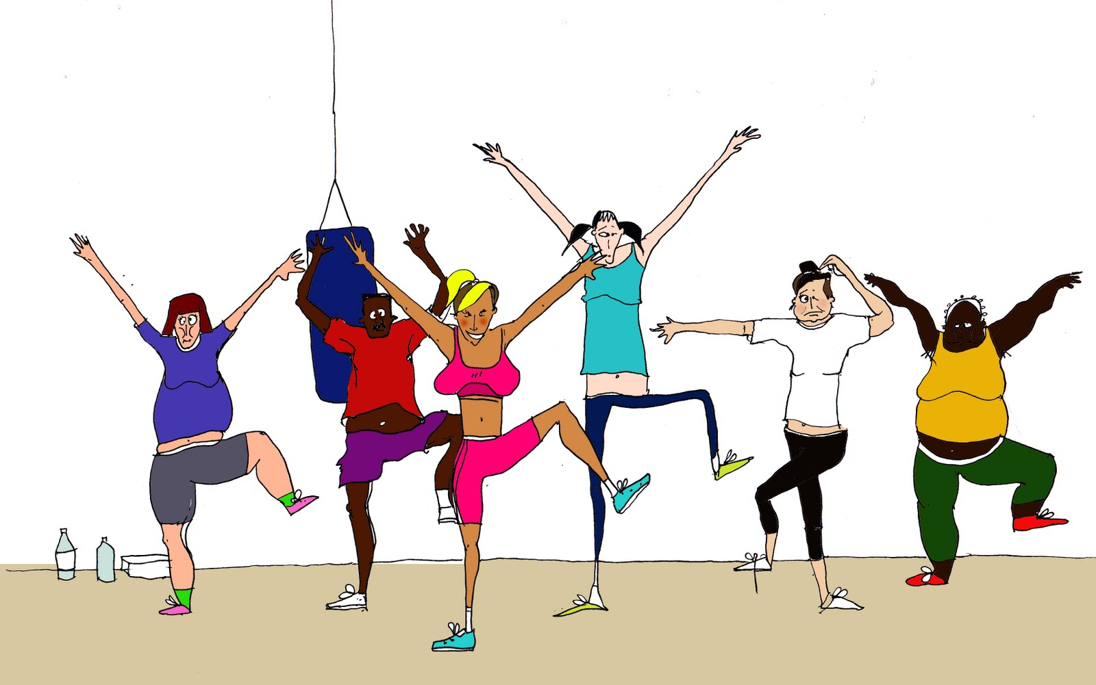 Lcass Group Fitness Clipart Cliparthut Free Clipart