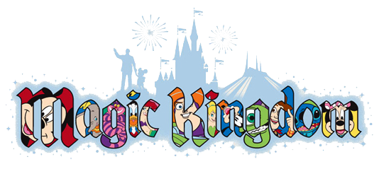Magic Kingdom Shadow Logo