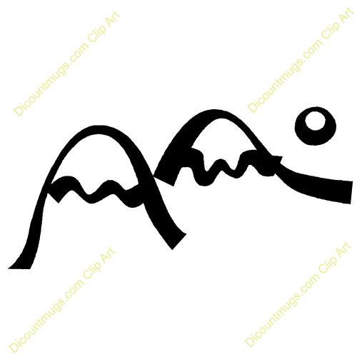 Mountain Clipart Mountain Peaks Clipartclipart 10958 Two Mountain