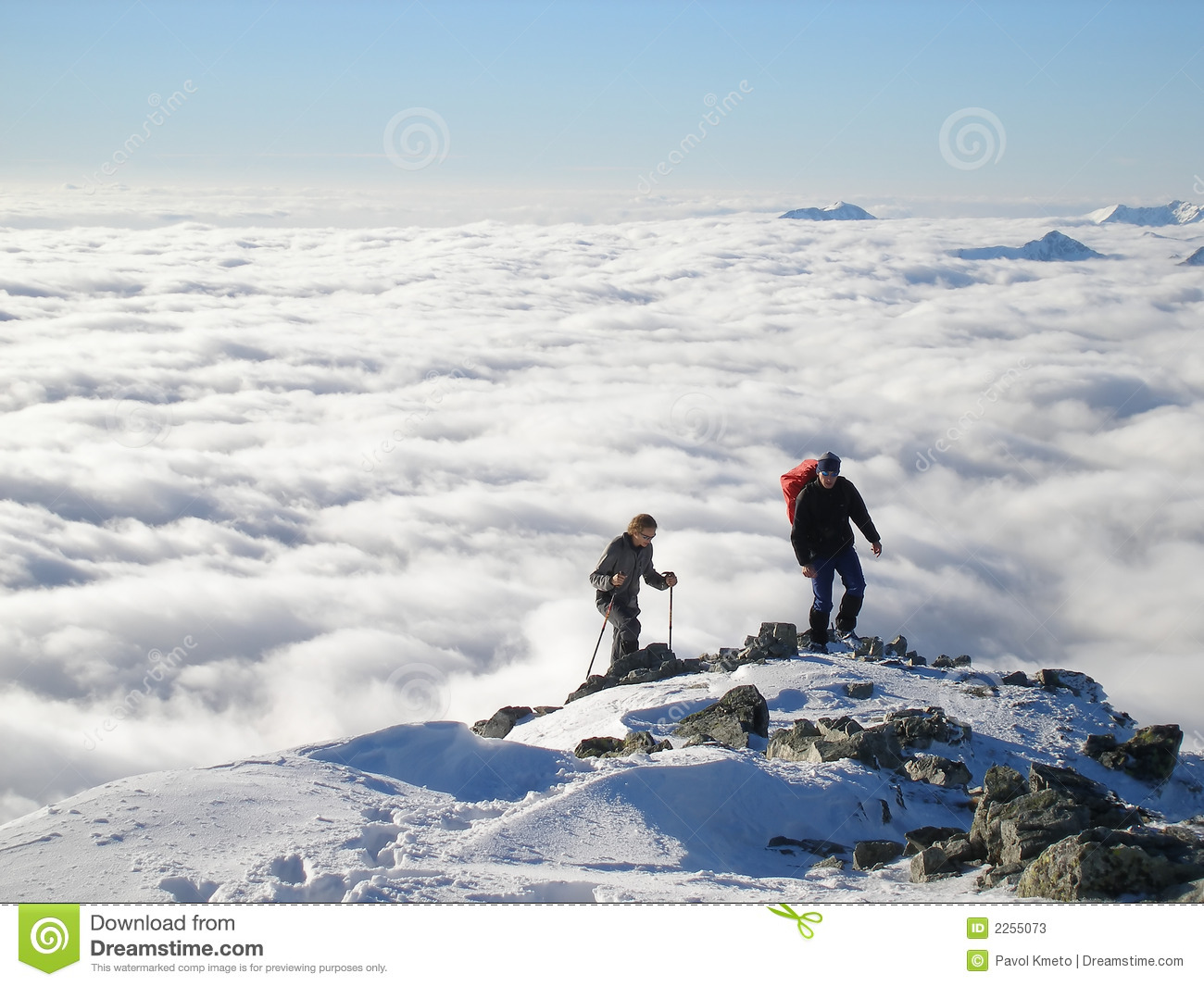 Mountain Hiking Stock Photos   Image  2255073