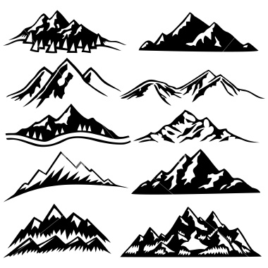 Mountain Range Drawings Images   Pictures   Becuo