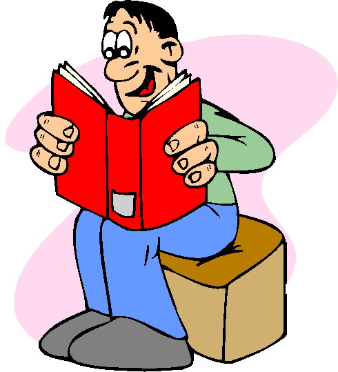 Partner Reading Clipart - Clipart Suggest