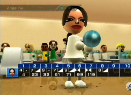 Wii Bowling Clipart Nintendo Wii Angelina Bowls
