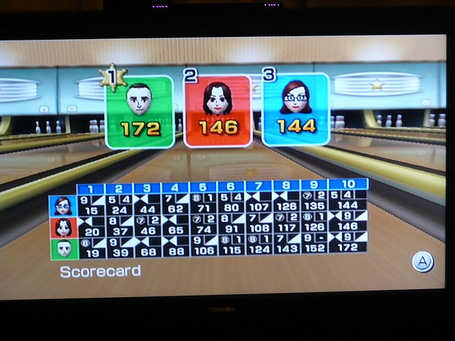 Wii Bowling Clipart Nintendo Wii Bowling