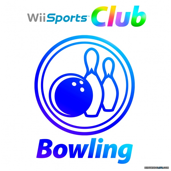 Wii Bowling Logo Wii Sports Club  Bowling Cover