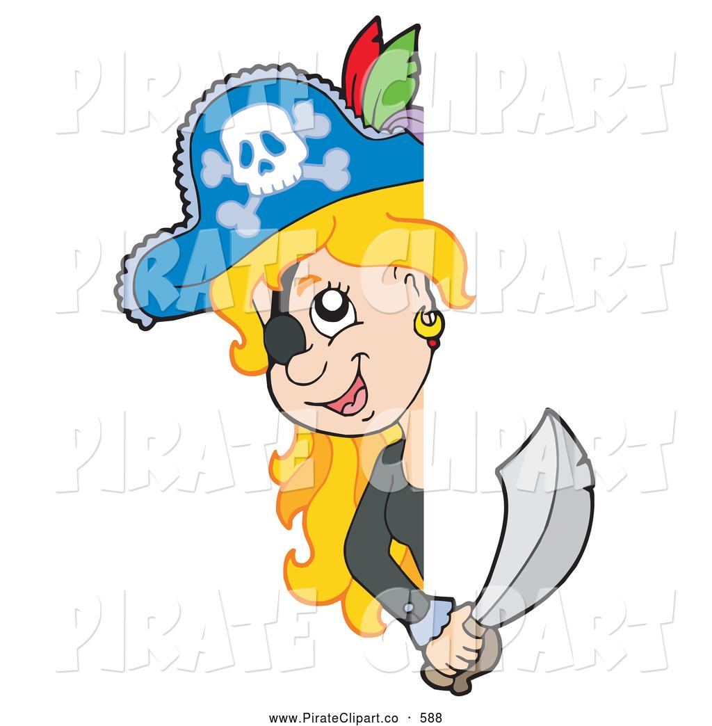 Woman Pirate Cartoon female pirate clipart - clipart kid