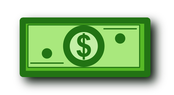 Dollar Bill Clip Art Dollar Bill Image   Vector