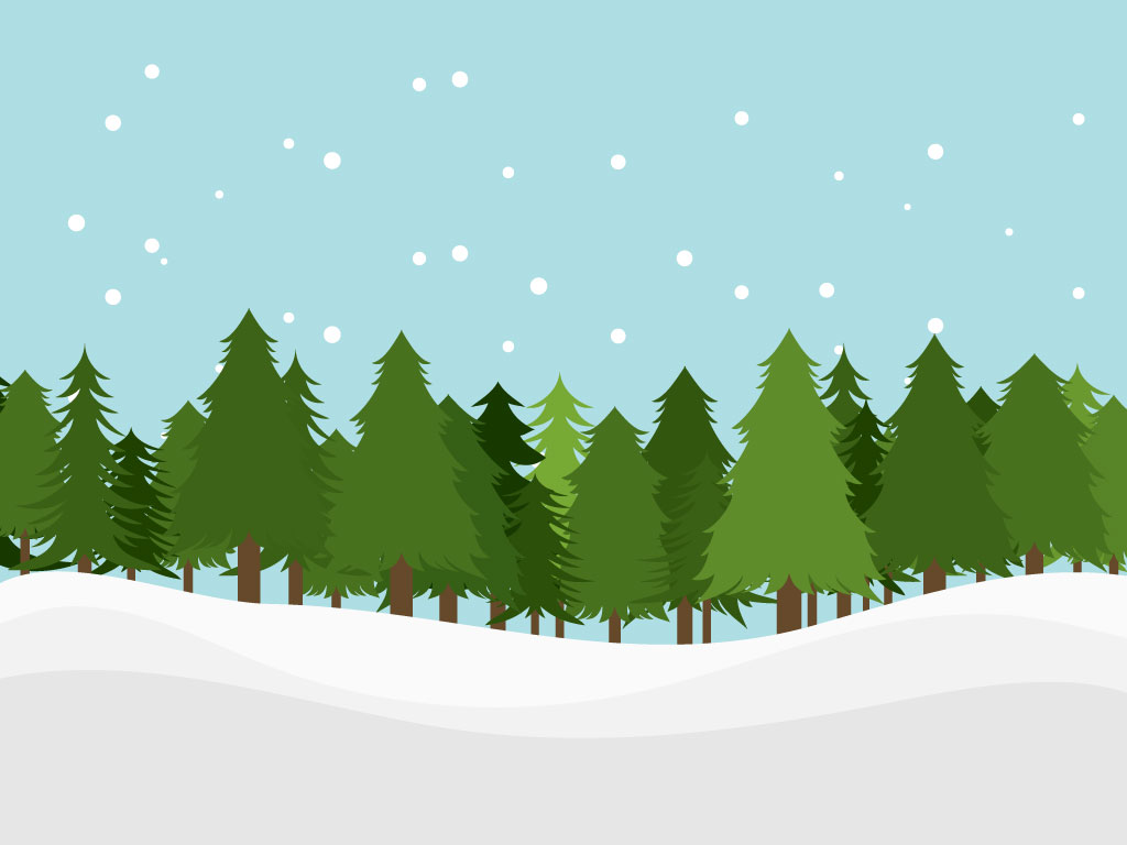 Download This Cartoon Style Forest Landscape For Your Background