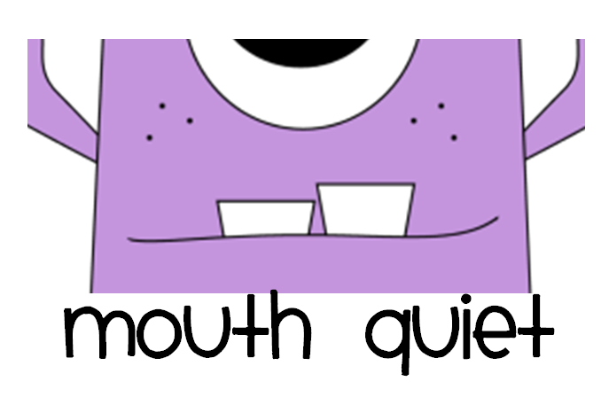 Quiet Mouth Clipart I Got The Clip Art From My