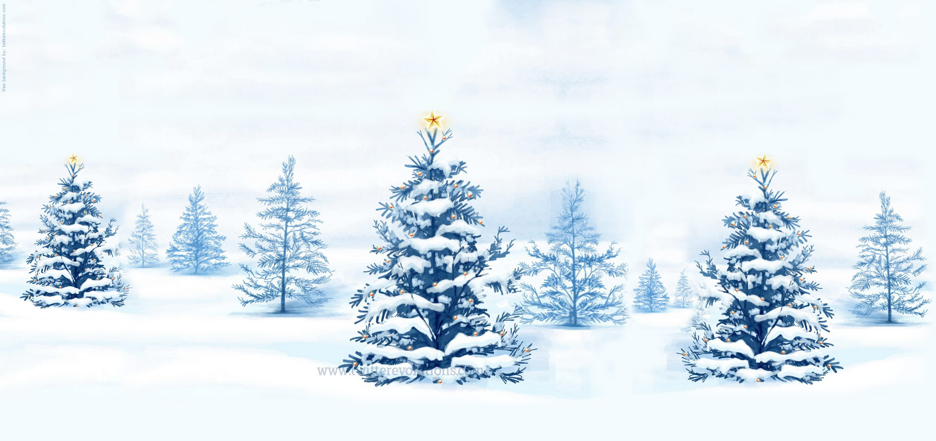 Winter Forest Scene Clipart - Clipart Kid