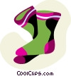 Socks Clothing Apparel Textiles Vector Clipart Images   Coolclips Clip