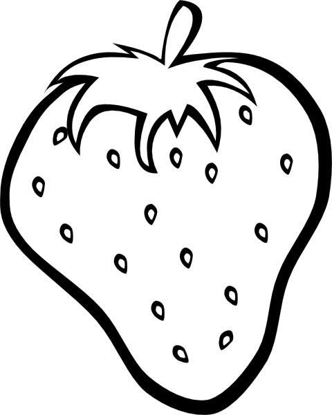 Strawberry 11 Clip Art At Clker Com   Vector Clip Art Online Royalty