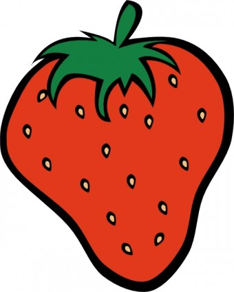 Strawberry Clip Art Free Vector 223 30kb