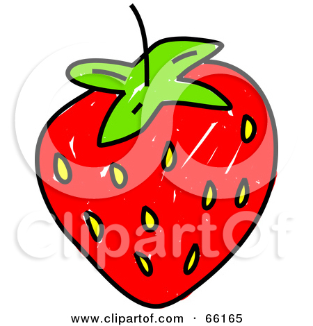 Strawberry Outline Clipart   Cliparthut   Free Clipart