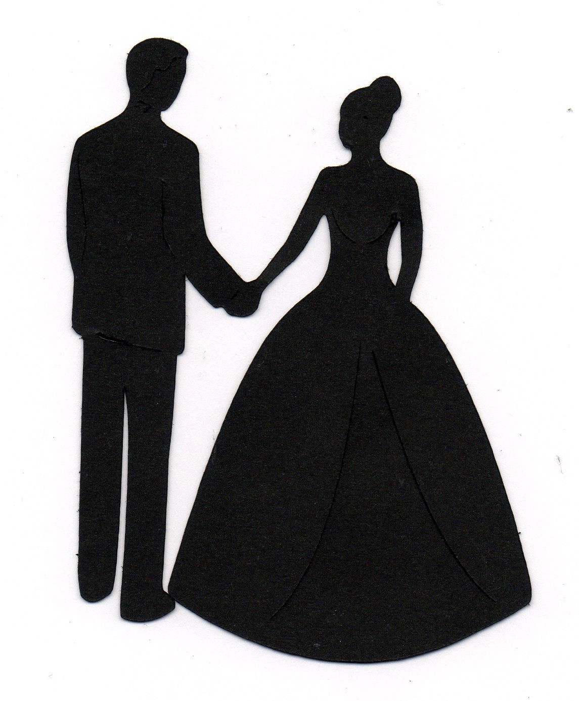 Wedding Couple Silhouette Png Vintage Wedding Dress