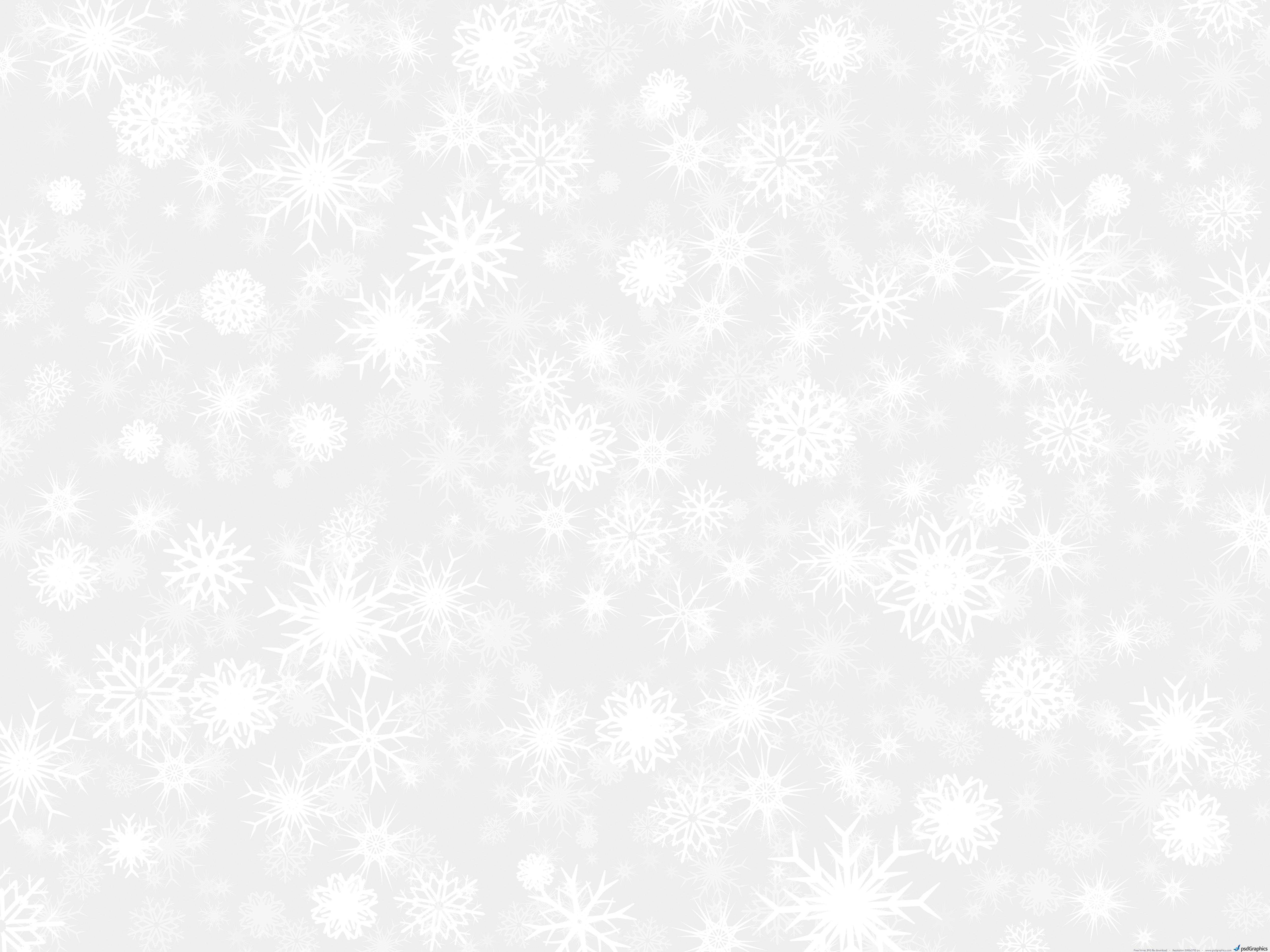 White Snow Background   Psdgraphics