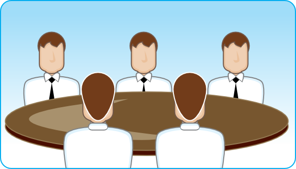 Business Meeting Clip Art At Clker Com   Vector Clip Art Online