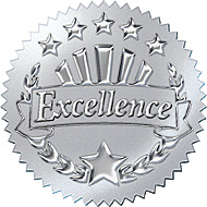 Clipart Award Of Excellence Certificate With A Golden Frame Royalty