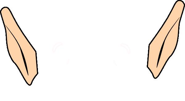 Elf Ears Clip Art At Clker Com Vector Clip Art Online Royalty Free