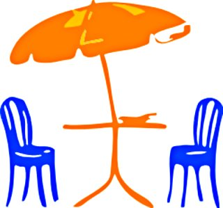 Outside Patio Clip Art