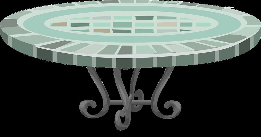 Patio Table Clipart - Clipart Kid
