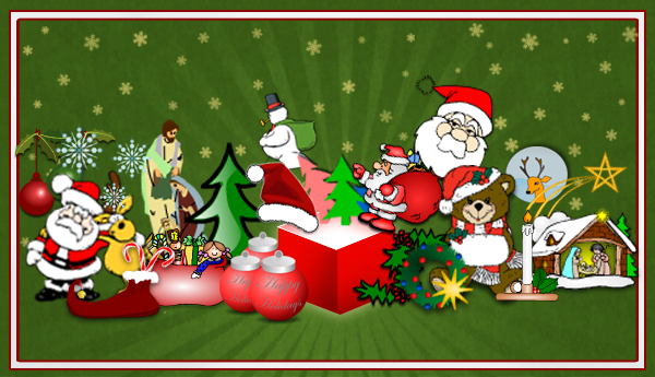 Great New Christmas Clip Art For Your Flyers And Posters   Poster