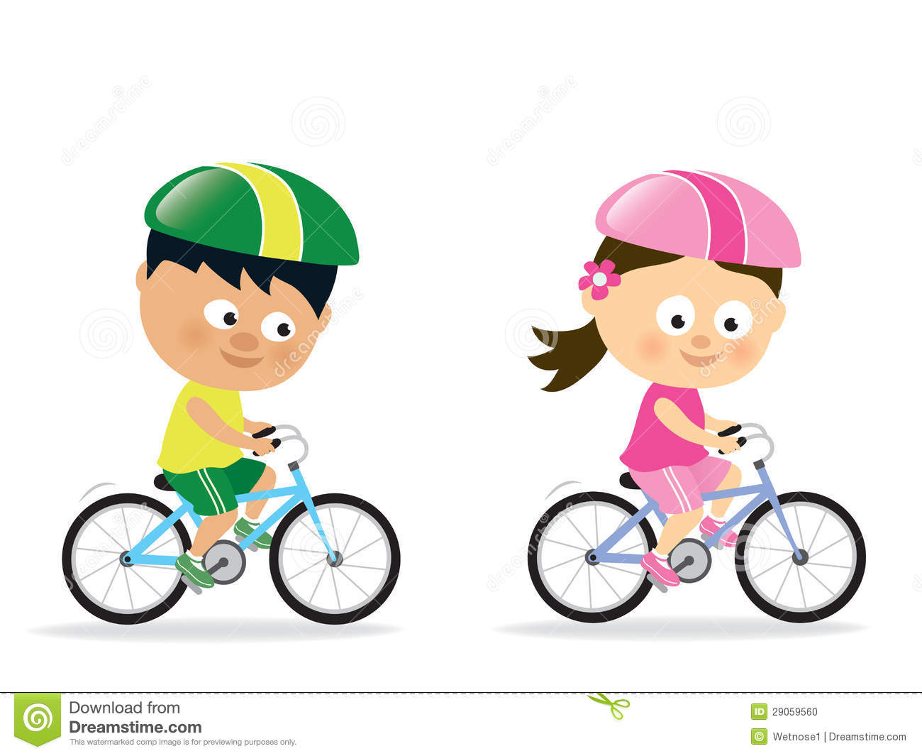 Bicycle Cute Clipart - Clipart Kid