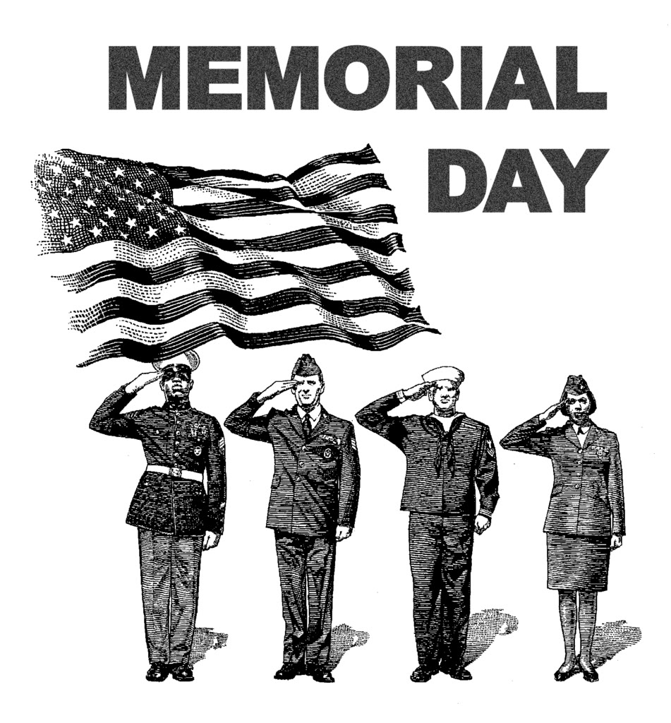 Memorial Day Clip Art Black And White Memorial Day Usa 2013