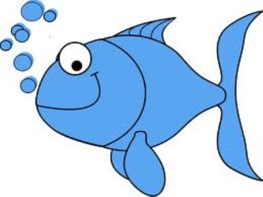 Big Blue Fish Clipart - Clipart Kid