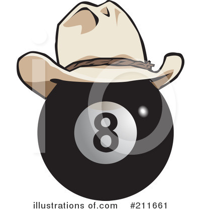 Royalty Free  Rf  Eight Ball Clipart Illustration  211661 By Dennis