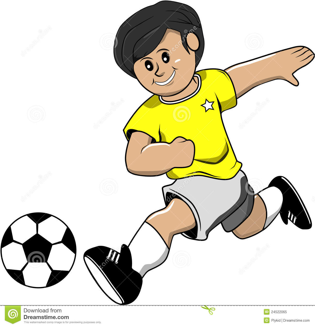 Soccer Boy Royalty Free Stock Photo   Image  24522065