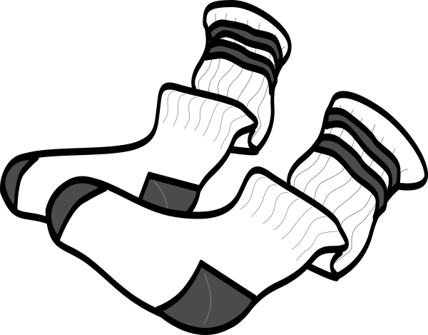 Socks Clip Art At Clker Com Vector Clip Art Online Royalty Free