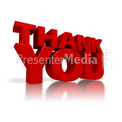 Thank You   Signs And Symbols   Great Clipart For Presentations   Www